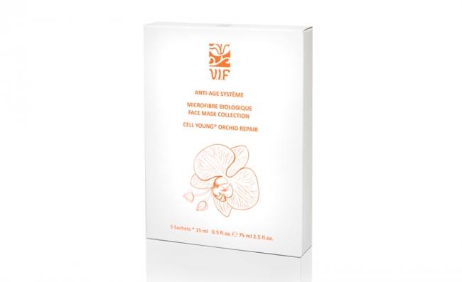 Маска для лица из биоцеллюлозы с экстрактом орхидеи V.I.F. (5 шт.)